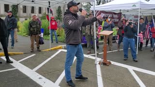 Joey Gibson speaks about the act of war on the people of the United States of America