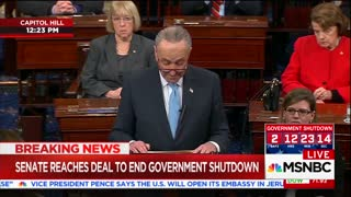 Senate Reaches Deal to End Government Shutdown - Video