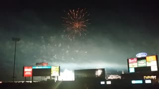 Thunder over Louisville from Papa John's Stadium - Video