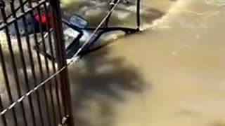 Texas Storm Sinks Boat