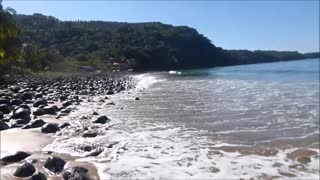 Akaisha's Morning Walk on Chacala Beach