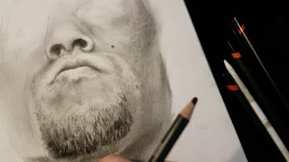 Nate Diaz Drawing Time Lapse 2