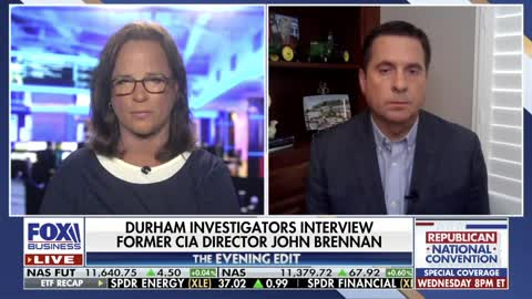 Rep. Nunes reacts to news that John Brennan has been interviewed in Durham investigation