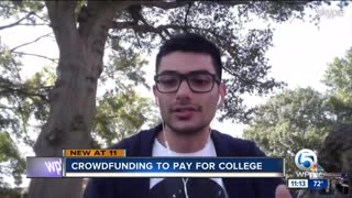 How to be successful crowdfunding for college - Video