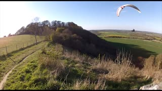 Summer Evening Paraglide
