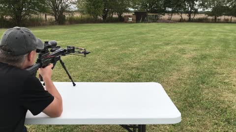 CenterPoint Javelin 370 Crossbow: Tabletop and Range Review