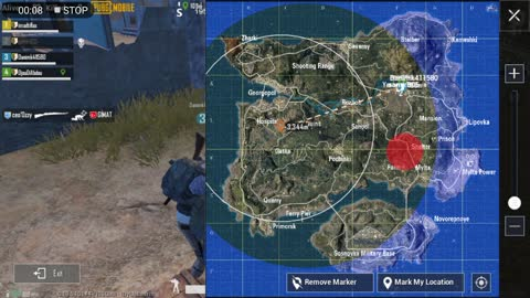 Team Gathering After Big Fight Pubg Game