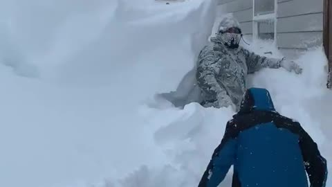 Massive snowstorm in Montana results in epic snowfall