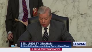 "Lindsey Graham - ""The World Is Watching"""