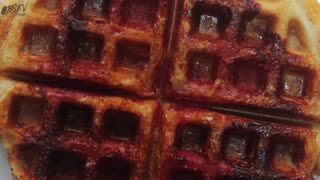 Pizza Waffles, Way Better Than Pizza Bagels - Video