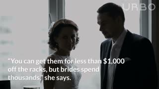 Married People Say That Wedding Dresses Cost More Than They Should