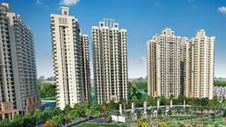 Gaur City 14th Avenue luxury compex Greater Noida West - Video