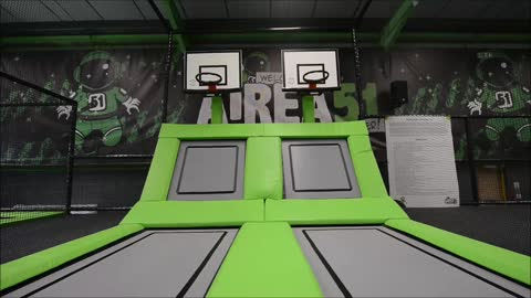 Airea51 trampoline park opens in Telford