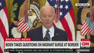Agitated Biden Snaps Back At Reporter For Asking About Border Children Conditions