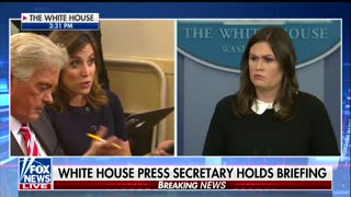 Reporter Tries to Back Sarah Sanders Into Corner on Roy Moore — But She Got the Last Word - Video