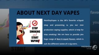Best E-Liquid Flavors | Next Day Vapes - Video