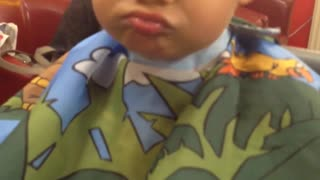 Funny Faces At The Barbershop - Video
