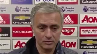 Jose Mourinho Post Match Interview - Man United 3-1 Sunderland - Video