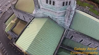 Amazing drone footage of Irish Cathedral - Video