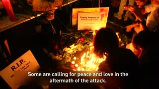 Thais light candles to pay tribute to blast victims - Video