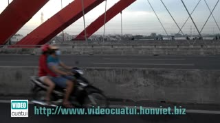 Binh Loi new bridge - HCMC - Video