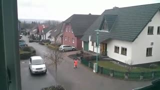 Strange unexplained noise heard in Germany - Video