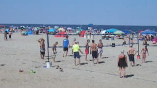 BRADLEY BEACH OCEAN VIEW - FOURTH OF JULY WEEKEND (NJ New Jersey Shore Beach Travel) - Video