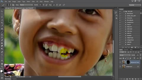 Whiten Teeth on Photoshop CS6