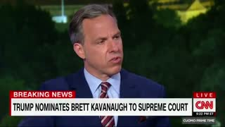 CNN's Jake Tapper: Judge Brett Kavanaugh is a political operative - Video