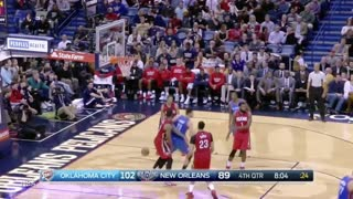 Russell Westbrook Fakes Jrue Holiday Out of His Shoes with Sick Crossover - Video