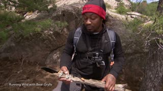 Marshawn Lynch Kills Wild Hog For Dinner, Threatens to Fight Bear Grylls - Video