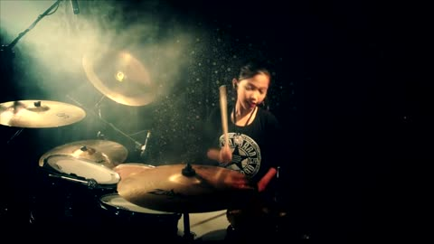 Scorpions - Wind Of Change - Drum Cover by Nur Amira Syahira