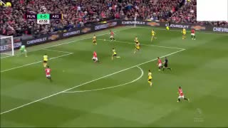 Goooooal!! Juan Mata brilliant goal vs Arsenal. 1-0 - Video