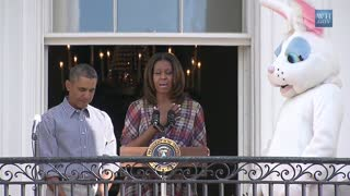 Opening the 2014 White House Easter Egg Roll - Video