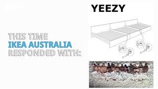 IKEA Trolls Kanye West - Video