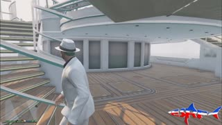 GTA 5 Online 8.7 Million Dollar Super Upgraded DLC Yacht - Video