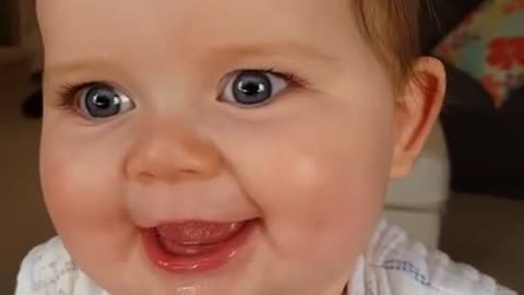 Why is this baby making hilarious facial expressions?