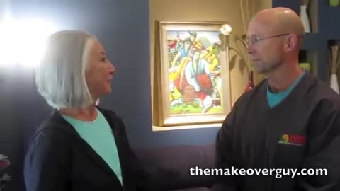 The Beauty of Silver Hair, by Christopher Hopkins, The Makeover Guy