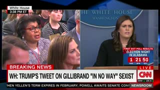 WH Pushes Back on Trump 'Sexist' Tweet Claims: 'Only if Your Mind is in the Gutter' - Video