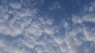 demo footage of time lapse sky
