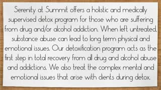 Detox Treatment and Addiction Recovery - Video