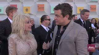 Dolly Parton talks about working with Katy Perry at the 2016 ACM Awards | Rare Country - Video