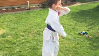 karate kata - Video