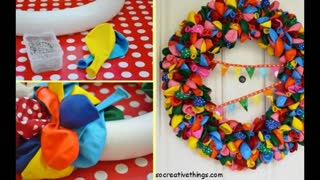 11 DIY Ideas Using Water Balloons