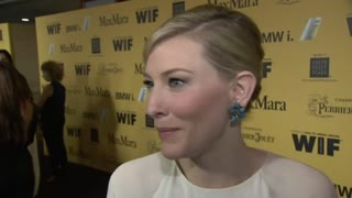 Cate Blanchett honored by Women In Film - Video