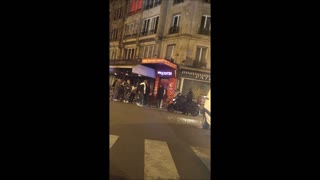 Footage of the Rue de Charonne After the Shooting - Video