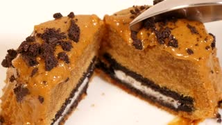 Oreo cookie butter cakes - Video