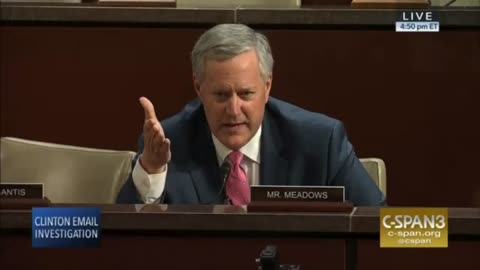 Meadows BUSTS Open Committee Investigation; Unmasks Two Anti-Trump FBI Employees