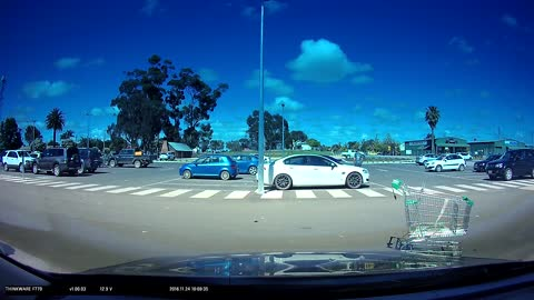 Dashcam Captures the Culprit