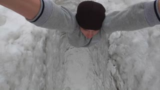 Winter Workout in Russia